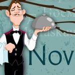 El reto de Brad – Noviembre sin restaurantes
